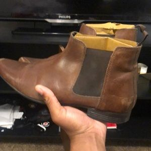 Size 10 ASOS ankle Chelsea boots